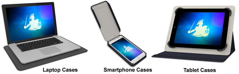 DefenderShield® Tablet, Smartphone and Laptop Cases